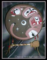 Cougar Drum by Gishkishenh