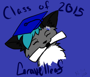 High school graduate 2015 by Gravelleaf