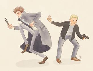 Oi, Sherlock by Natello
