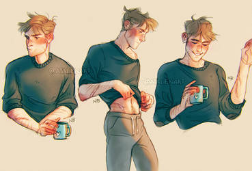 Morning tea by Natello