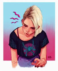 Gwen Stacy by Natello