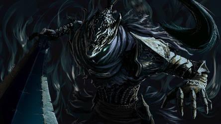 Artorias the abyssal lord by Anti-Viirus