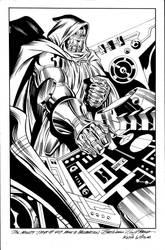 Doctor  Doom  Receation  Catskill  Comics  Commiss by kwill916