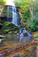 Catawba Upper Falls by tjparson
