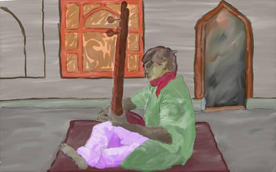 Sitar Man by donatj