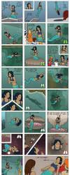Be a True Mermaid - The Comic [By SheCantBreath] by DraDragonTear