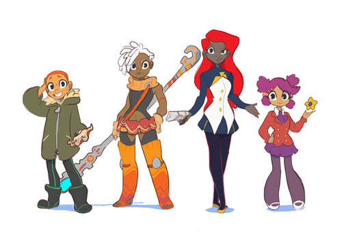 Ladies of DreamPiper by Dream-Piper