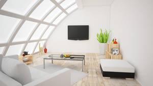 Cinema 4D - Room IV by SMOKEYoriginalHD