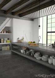 Kitchen project by SMOKEYoriginalHD