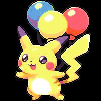 flying pikachu!!! by cinnasaur