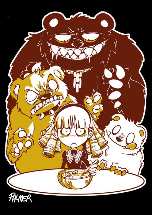 Goldilocks and the Three Bears by lpspalmer