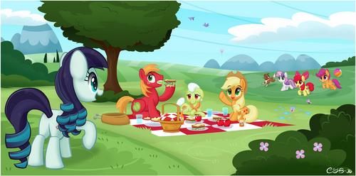 Picnic with a Pony Pop-Star by CTB-36