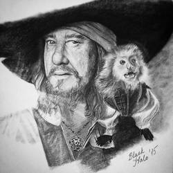 Barbossa is hungry by dgblackhalo