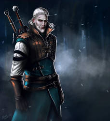 Geralt of Rivia by dgblackhalo