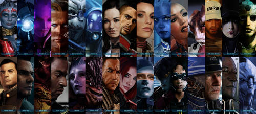 Mass Effect 'Extended Illustrations Cut' by Facuam