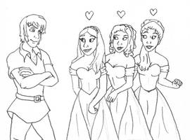 DS Disney Sketch by SweetFaith06