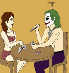 Joker x Rachel: Strip Poker by SweetFaith06
