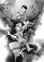 iron moon by zhoupeng
