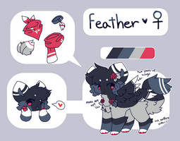 . feather reference 2018 . by tuqiiluka