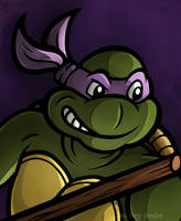 Donatello by JellySoupStudios