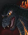 Godzilla by JellySoupStudios