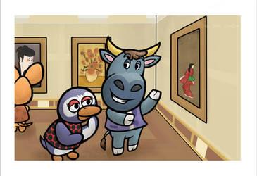 Art Gallery by JellySoupStudios