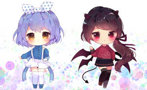batch 1 [simple chibi commission] by antay6oo9