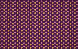 Cute Pink And Orange Bugs Purple Pattern Wallpaper by azzza