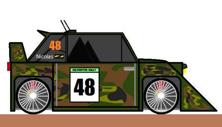Jean Nicolas' Car - Gravel Raider by MKBrony