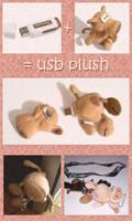 usb Plush by arrioch