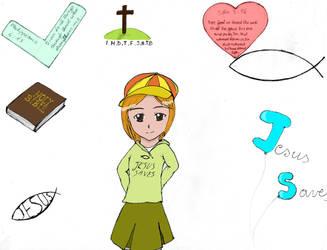 My Christian Faith (coloured version) by Feesu-san