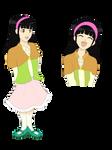 Mei Ying Chan (coloured) by Feesu-san