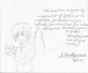 IDOTB - 2 Timothy 3:16-17 by Feesu-san