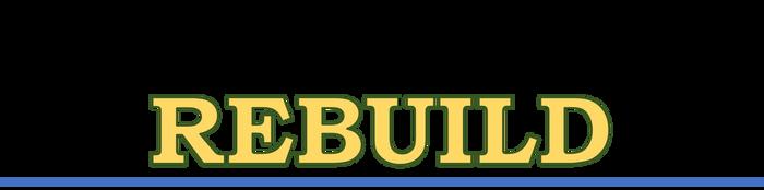 Rebuild (logo) by Feesu-san