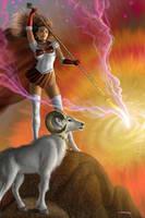 Sailor Aries by AlanGutierrezArt