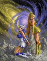 Senshi of the Galaxies by AlanGutierrezArt