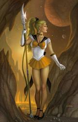 Sailor Phobos by AlanGutierrezArt