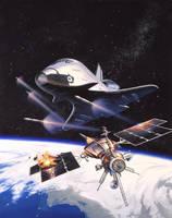 Orbit War by AlanGutierrezArt