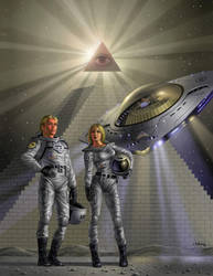 American UFO by AlanGutierrezArt