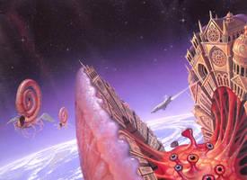 Helix and the Sword by AlanGutierrezArt
