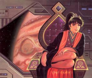 A Princess Of Jupiter by AlanGutierrezArt