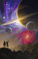 Creation (sketch) by AlanGutierrezArt