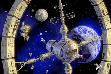 Rise Of The Terran Federation by AlanGutierrezArt