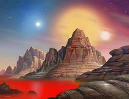 Trinary by AlanGutierrezArt
