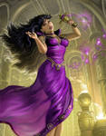 Mistress 9 And The Purity Chalice 2 by AlanGutierrezArt