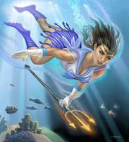 Sailor Mer by AlanGutierrezArt