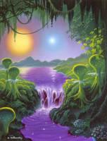 Jungle Binary by AlanGutierrezArt