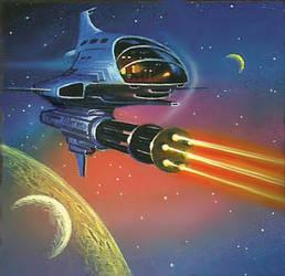 Gatling Laser by AlanGutierrezArt