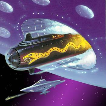 Pilum Torpedo by AlanGutierrezArt