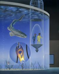 Oceanarium: Cat Shark Egg by AlanGutierrezArt